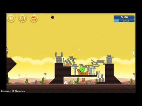 Angry Birds Walkthrough 3-21