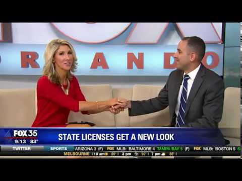 Florida Driver's Licenses Get A New Look