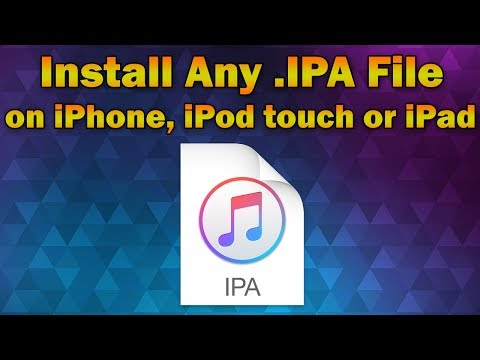 How to Install Any App IPA File on iPhone, iPod Touch or iPad (Without Jailbreak)