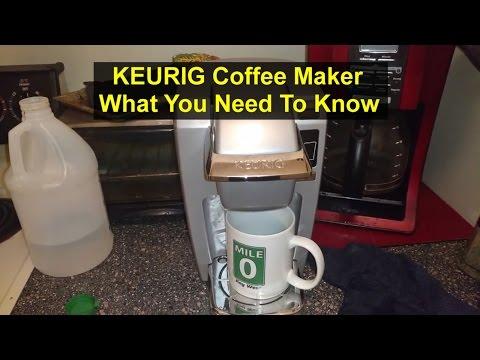 Keurig coffee maker, use, cleaning, deep cleaning, function, etc. - VOTD