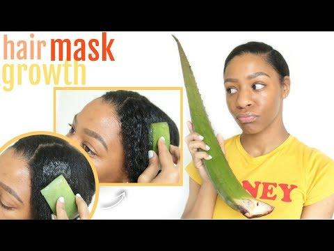 Is Aloe Vera THE BEST Hair Mask for Hair GROWTH + DRY Hair?!   T'keyah B