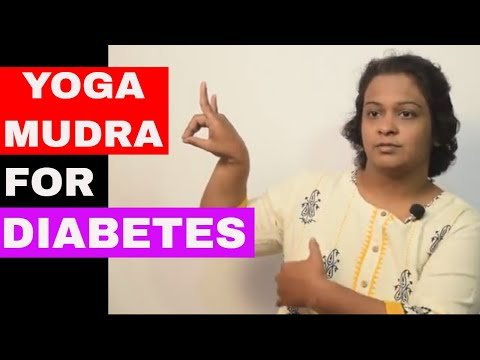 Yoga Mudra for Diabetes (Type 1 or Type 2)   Apan Mudra for Diabetes- by Dr.Wagh