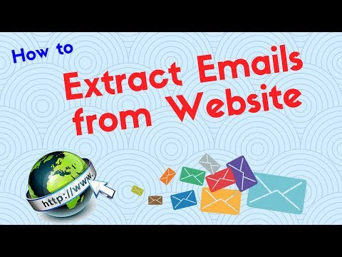 How to Extract Emails from websites