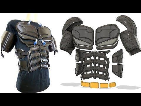 3D Printed Batman Cosplay Suit #1 with Ninjaflex   XRobots