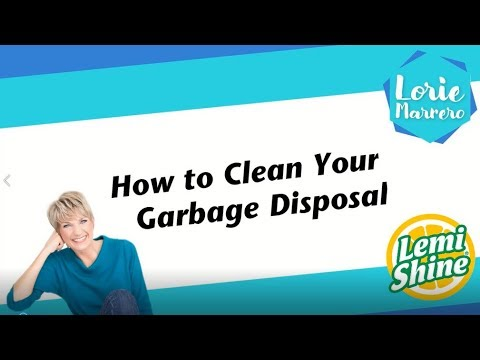How to Clean Your Kitchen Sink Garbage Disposal