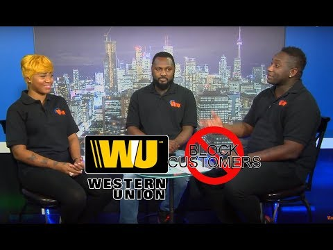 Western Union - banned customers from using service