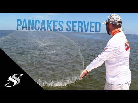 How to Locate & Cast net Greenbacks/Bait with the Perfect Chum