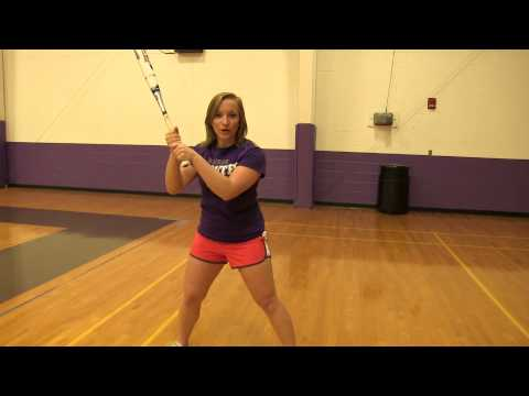 Lindsey How to have the perfect softball swing