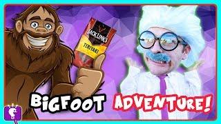 HobbyHarry Gets Eaten by BIGFOOT! Mystery Adventure by HobbyKidsTV
