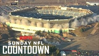 Silverdome still standing after failed implosion | NFL Countdown | ESPN