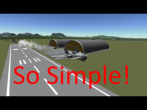 How to build an airplane in KSP (The Fast Way)