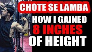 HEIGHT INCREASE - Kaise hua 8 inches lamba in just two years | Only on Tarun Gill Talks