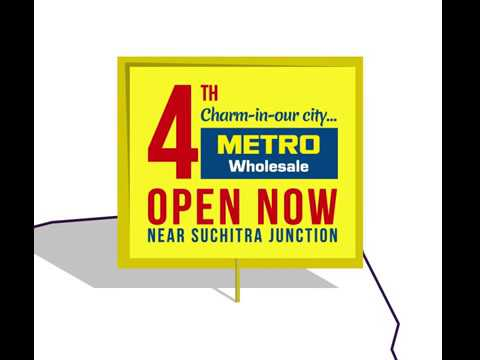 4th METRO Wholesale Launch at Hyderabad