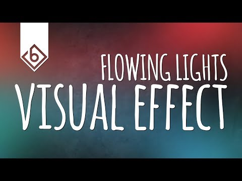 How To Create Flowing Lights Effect - Sony Vegas Tutorial