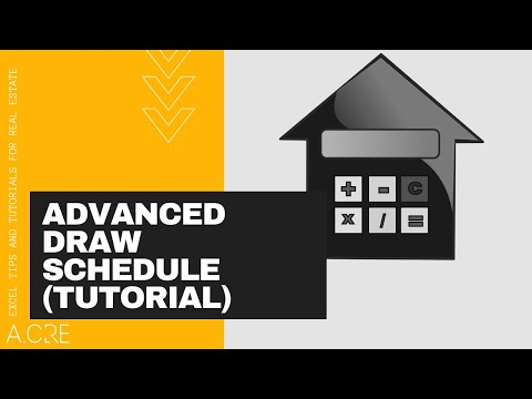 Tutorial: Construction Draw and Interest Calculation Model