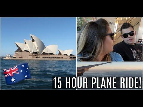 15  HOUR FLIGHT TO SYDNEY AUSTRALIA!