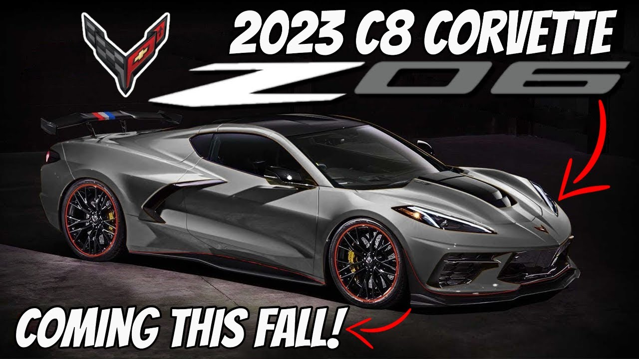 GM Released the 2023 C8 Corvette Z06 Teaser Trailer AND Confirmed We'll SEE the car SOON!