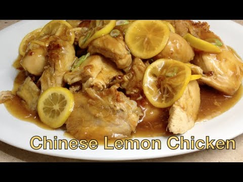 Lemon Chicken Video Recipe cheekyricho