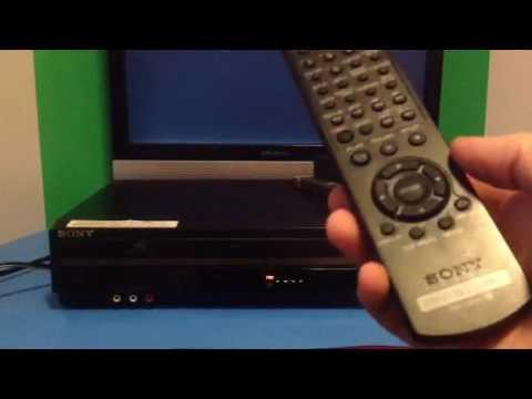 Sony SLV-D380P Progressive Scan DVD/VCR Player Combo VHS Recording W/ Remote