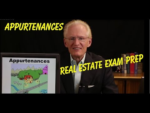 02 Appurtenances-Arizona Real Estate License Exam Prep