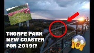 Thorpe park new coaster