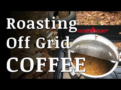 Off Grid COFFEE ROASTING and BREWING