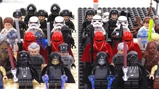 New vs Old: LEGO Star Wars Death Star minifigs compared
