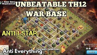 th12 war base 2018/coc th12 anti 3 star/anti 2 star war base