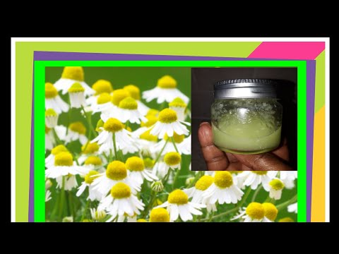 How To Get Rid Of Bags & Puffy Eyes Fast : Chamomile Cream