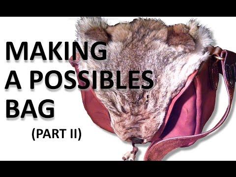Making a Possibles Bag (Part 2)