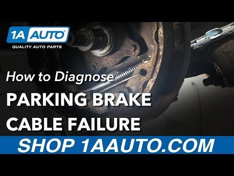 How to Diagnose E-Brake Cable Failure