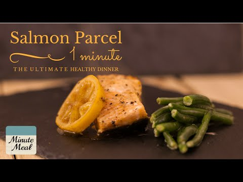 Quick and Easy Salmon Recipe - Salmon Parcel with Lemon and Soy | Minute Meal