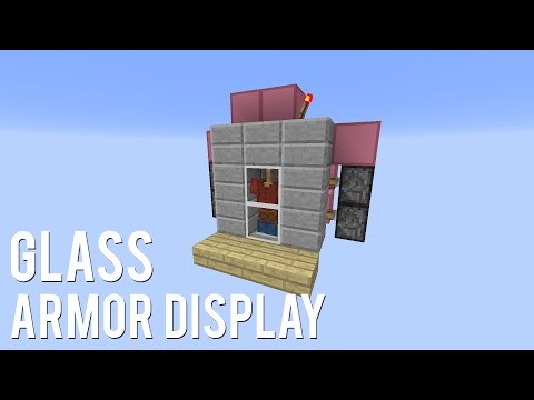 Redstone: Glass Armor Display [Tutorial]