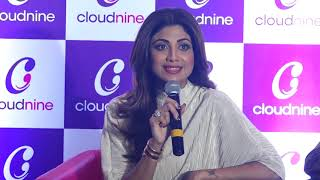Shilpa Shetty At The Inauguration Of Cloudnine India's Leading Chain Of Maternity Hospitals