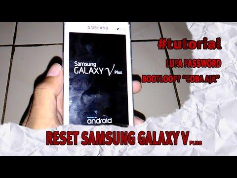 Mengatasi Lupa Kunci Pola Samsung Galaxy V dan V Plus