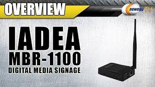 IAdea MBR1100 Digital Signage Player Overview - Newegg TV