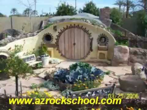 Hobbit Hole Under Construction
