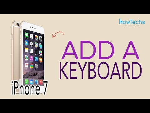 iPhone 7 - How to Add / Remove a Keyboard