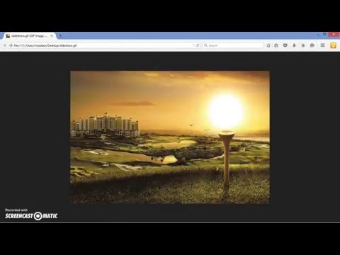 How to create an image slideshow animated gif in photoshop CS5