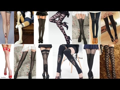 Trying out 14 Creative Thigh Highs&Stocking Haul + 5 Cute Outfits