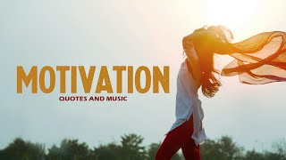 MOTIVATIONAL QUOTES with relaxing MUSIC for a break 🌟