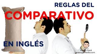 Download 4 Reglas básicas del COMPARATIVO en Inglés - Muy bien explicado Video
