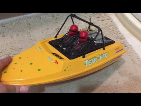 RC Jet Boat Mod build NQD brushless Jet Drive boat