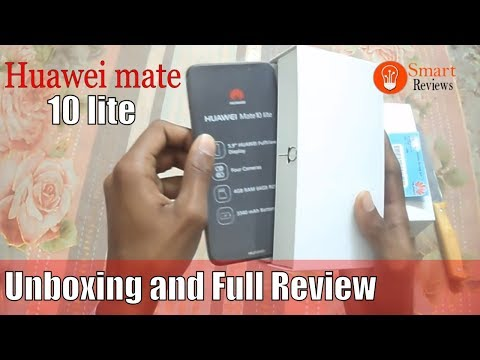 Huawei mate 10 lite Unboxing and  Review in urdu/hindi - Smart reviews