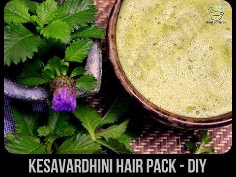 Kesavardhini hair pack - Hair care DIY