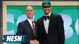 Jayson Tatum Talks Moment He Was Drafted By Celtics
