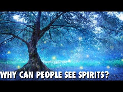 PSYCHIC MEDIUM - WHY CAN PEOPLE SEE SPIRITS?