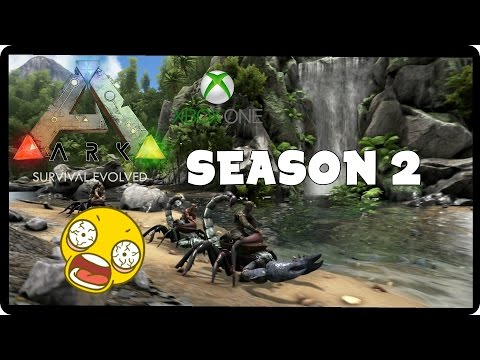 ARK: Survival Evolved Xbox One S2 Ep 1 = Taming a Turtle! ALAHOUAKBAT! (Funny Moments)