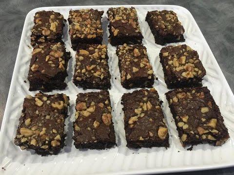 Easy Walnut Brownies