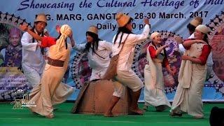 RASHTRIYA SANSKRITI MAHOTSAV 2017 ||  Lepcha Cultural Dance || Gangtok || Sikkim || India